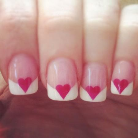 20 Ridiculously Cute Valentine 39 S Day Nail Art Designs Diy