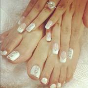 wedding nail design - unghie da
