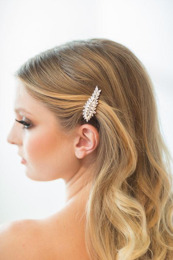 wedding hair clip wedding hair accessory bridal hair clip crystal hair clip new