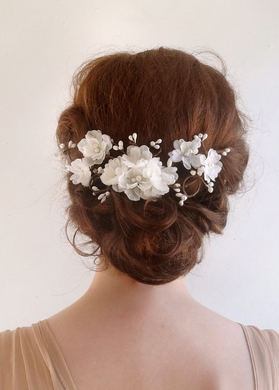 Wedding Hair Garland