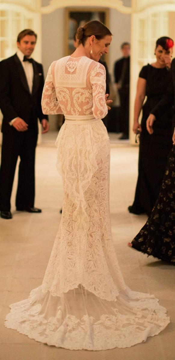 Wedding Dresses  CustomMade Givenchy Lace Wedding Dress