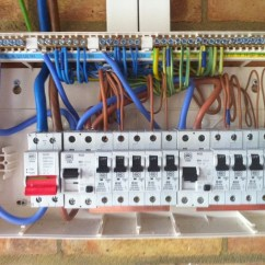 Wiring Diagram For Consumer Unit Horn Relay A Garage