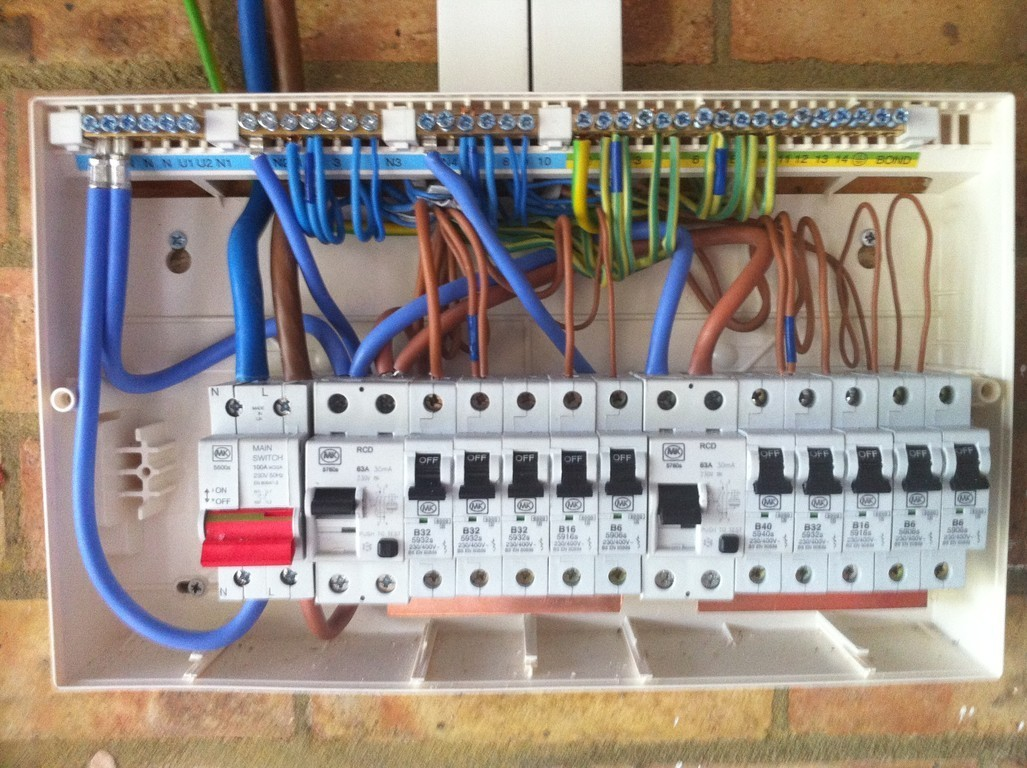 wiring a garage consumer unit diagram 2000 chevy blazer stereo
