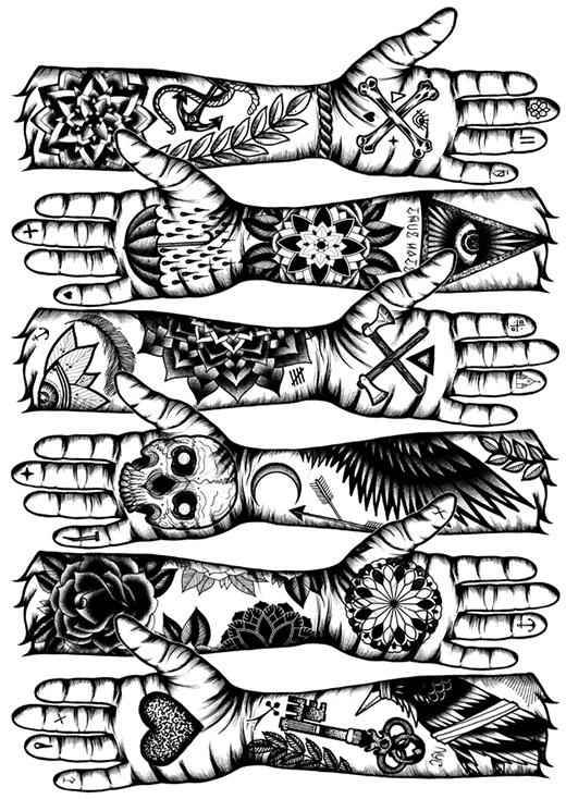 Bocetos Y Plantillas Para Tatuajes Pequeños Guía De Tatuajes Y