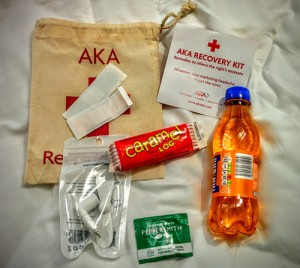 recovery kit de l'AMA Conference 2016 © Pepe Zapata