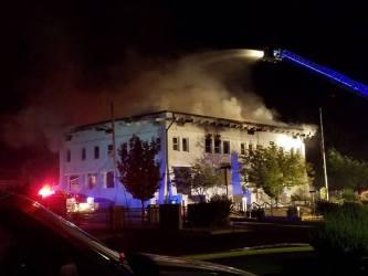 bisbee hall fire town arizona