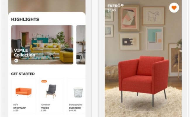 Ikea Place Augmented Reality Furniture Placement App Now