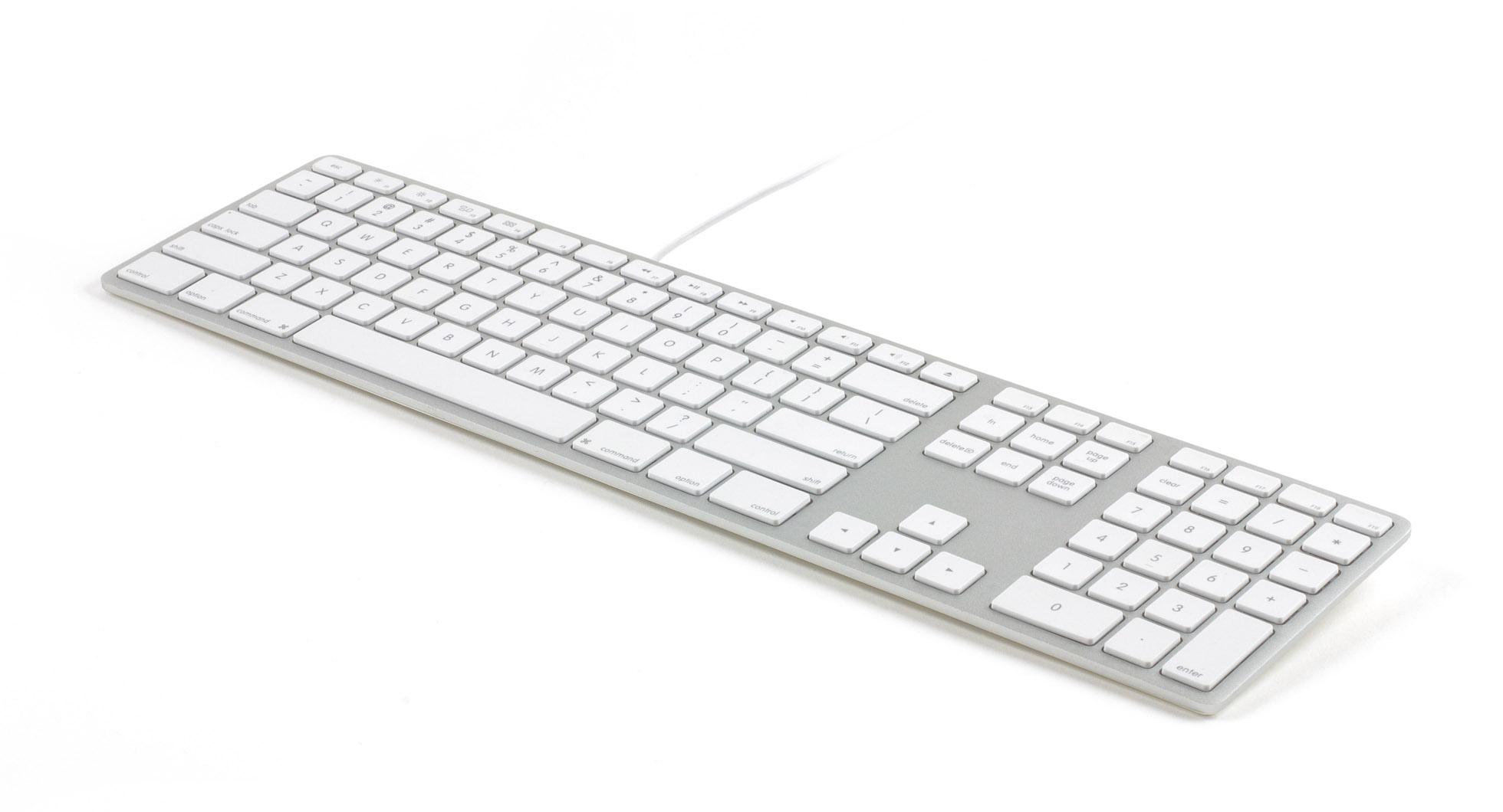 Matias Announces RGB-Backlit Version of Wired Aluminum