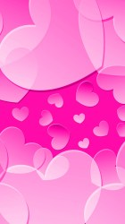 pink iphone wallpapers heart cute backgrounds phone girly background hearts purple hd weekends apple hupages glitter joybell queen desktop paper