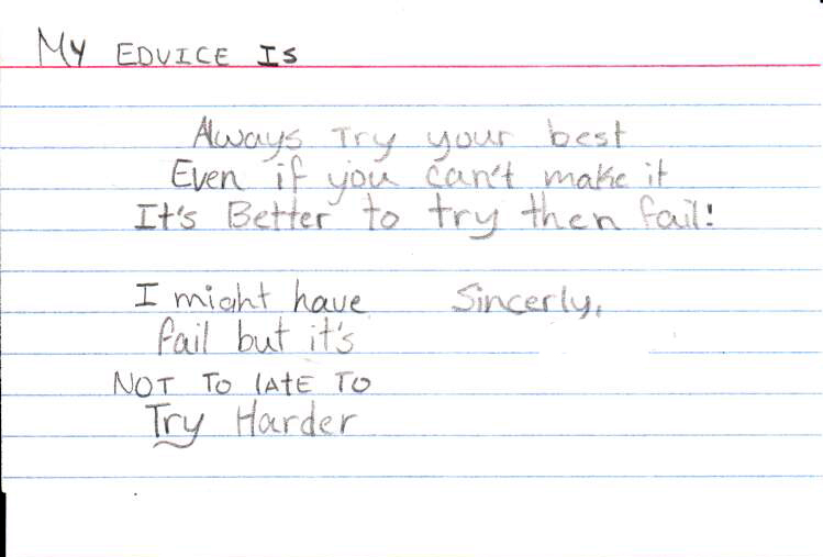 Advice Card 11