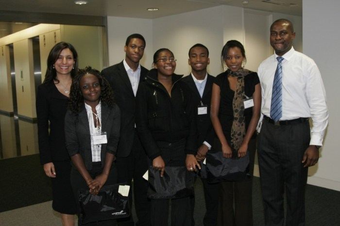 Students at Citigroup Open Day 2005