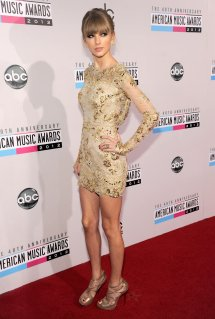 Taylor Swift American Music Awards 2012