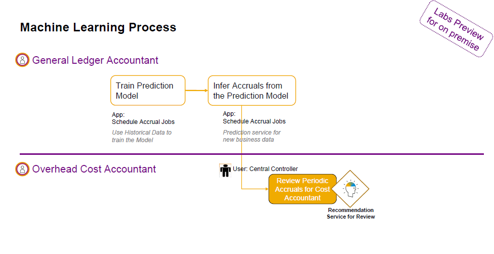 S/4HANA Purchase Order Accruals Machine Learning
