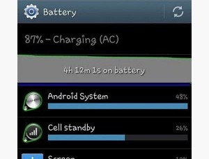 galaxy s4 batter drain out