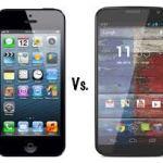 iPhone 5S vs Moto X