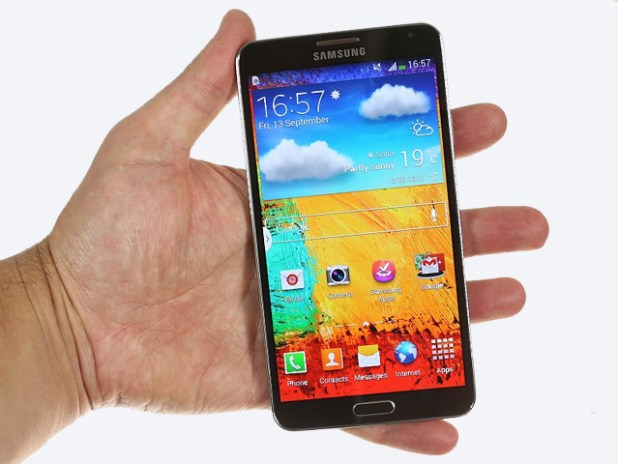 Galaxy Note 3 Picture Hands on