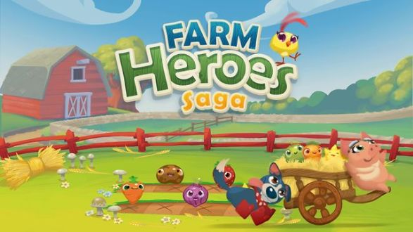 Farm Heroes Saga – Crush the Cropsies, Candy Crush Style