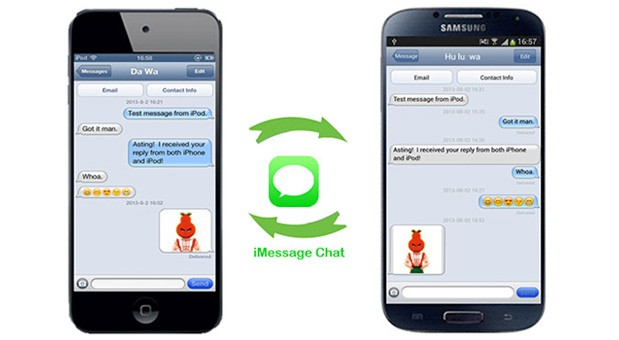 how to send from imessage