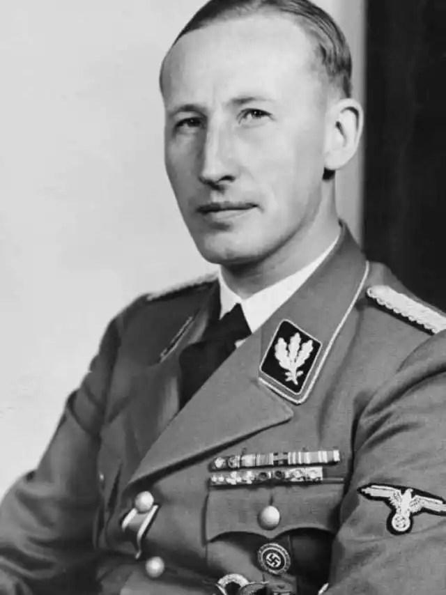 Heydrich era el prototipo perfecto de la raza aria: alto, rubio, atlético.
