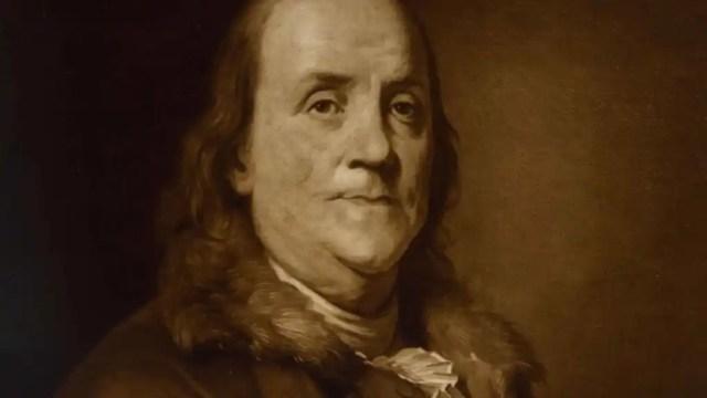Cuadro de Benjamin Franklin.