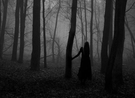 Ghost Girl Horror Wallpaper For Iphone In The Woods Image 2532365 By Lauralai On Favim Com
