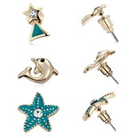 The gallery for --> Earrings Studs Sets