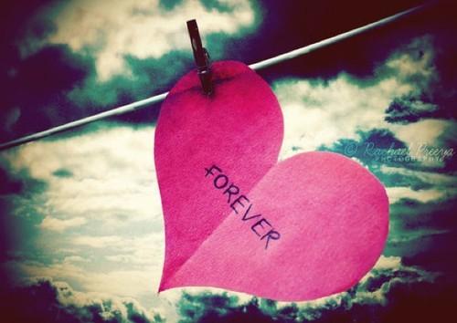 Resultado de imagen de clouds-forever-forever-love-heart-heart-favim-com