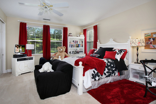 bedroom black photography red  image 634291 on
