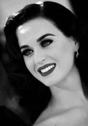 black and white katy perry