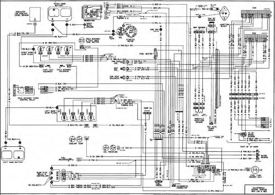 1985 chevy k5 blazer wiring diagram