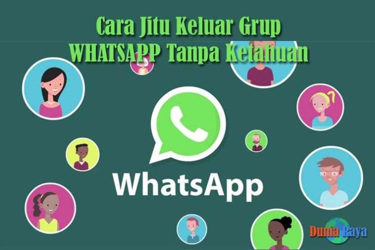 Keluar grup Whatsapp