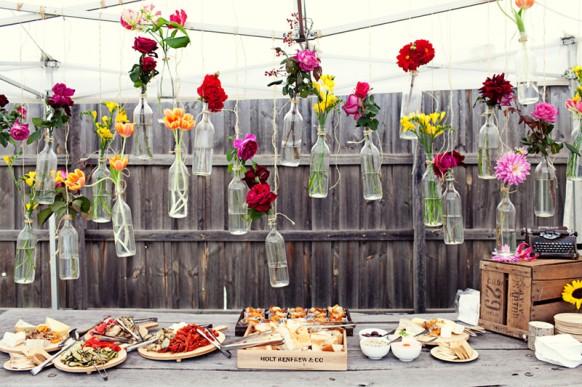 Cheap And Creative Garden Wedding Decoration Ideas ♥ Colorful
