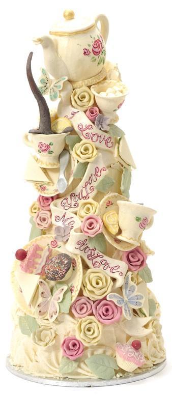 Choccywoccydoodah Special Cake Design Tea Party Bridal Shower