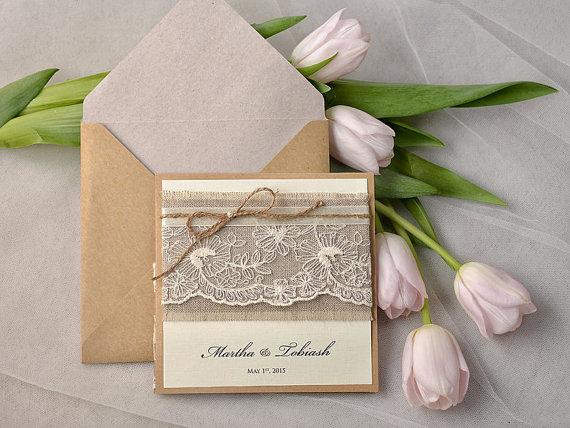 Custom Designed Wedding Invitations Por On Rustic And Pocket