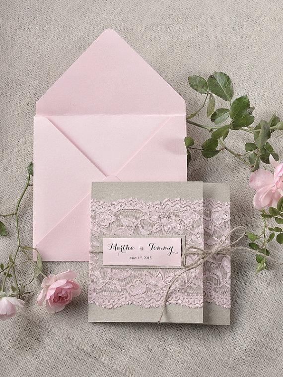 Vintage Lace Wedding Invitations To Create Your Invitation With Smart Design 17
