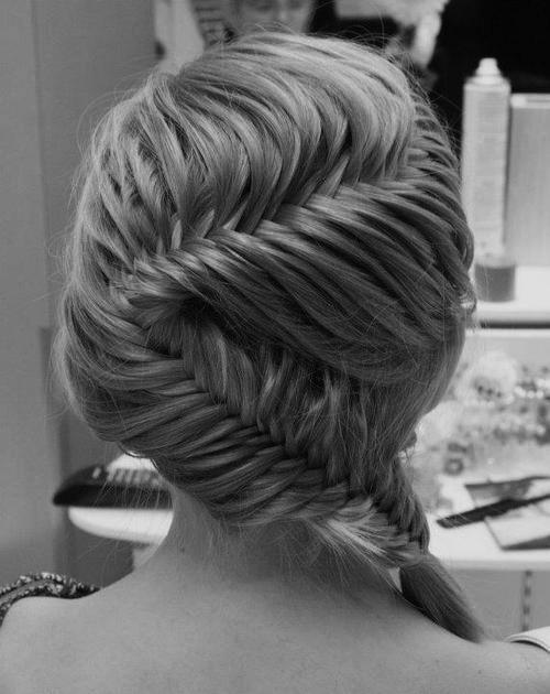 Wunderschöne Französisch Fishtail Braid Hochzeit Frisur ♥ Best