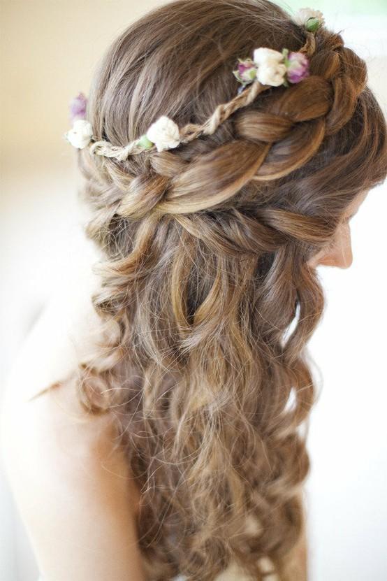 Hochzeit Frisuren Wunderschöne Hochzeit Haar Und Make Up #797862