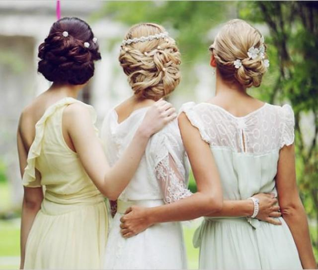 Breathtaking Wedding Updos  E  A Gorgeous Prom Updo Ideas  E  A Bride And Bridesmaids Hairstyles  Weddbook