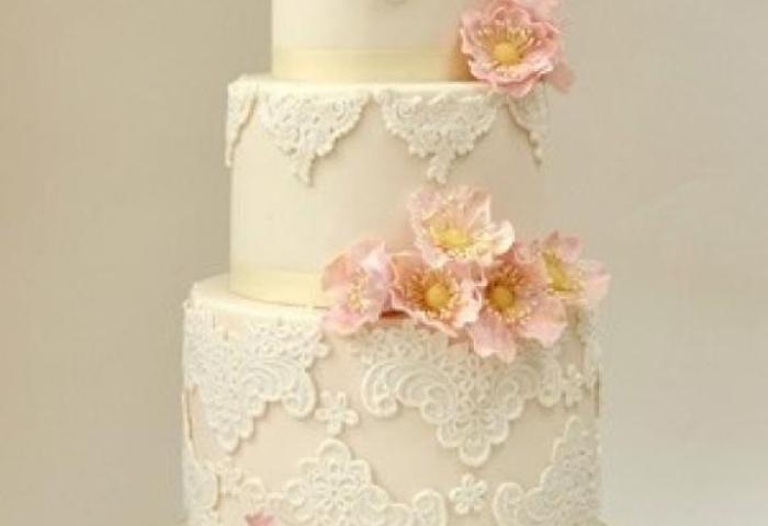 Fondant Wedding Cakes Vintage Wedding Cake 805178 Weddbook