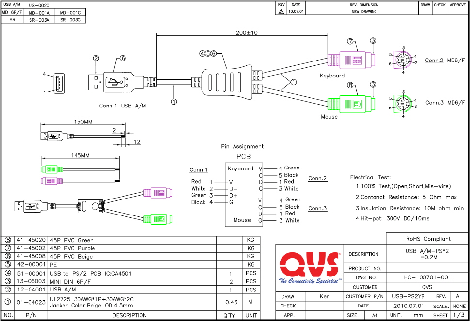 USB PS2YB_S korea ps2 controller wiring diagram wiring diagrams rosemount 1056 wiring diagram at soozxer.org