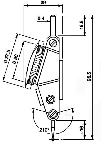 Brown & Sharpe 74.111370 Interapid 312b-1 .0005