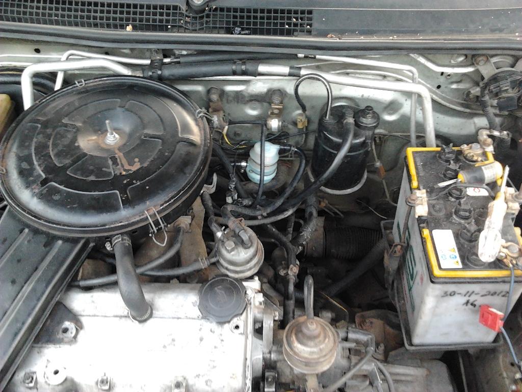 Mengganti Filter Bensin  Timor S515 SOHC Karburator