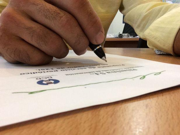 Confianza en la destrucción de documentos