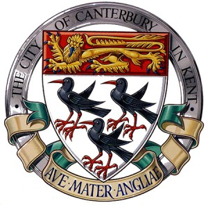 Canterbury Coat of Arms by Dan Escott
