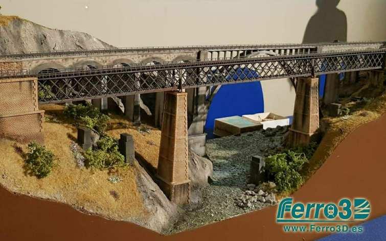 Puente Escala N sobre el Río Jerte Plasencia