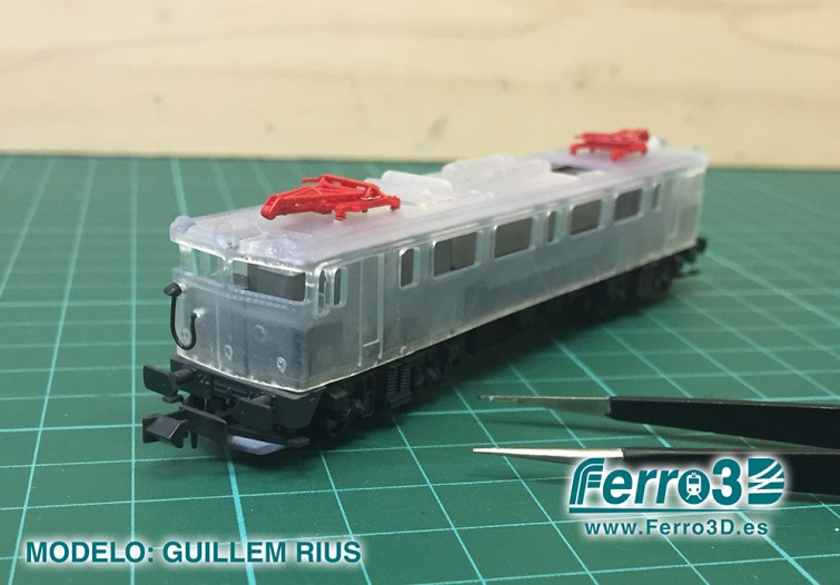 Kit conversion locomotora renfe 279 kato ferro3d