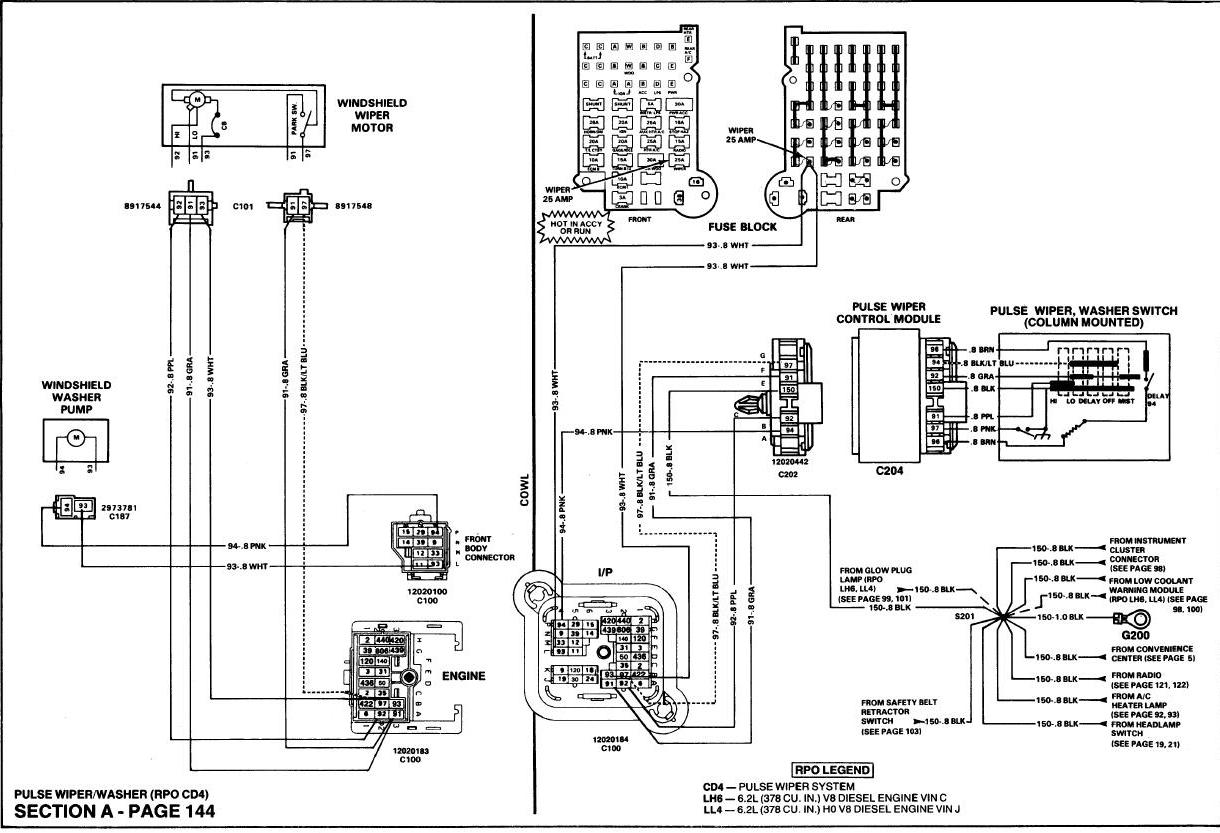 1987 Gm Wiper Wiring Auto Electrical Diagram 2008 Wilson Related With