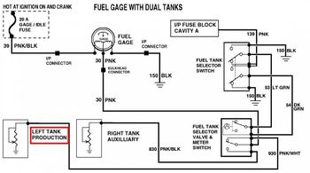 1973 1987 Chevy Gmc Dual Fuel Tank Wiring Diagram : 49