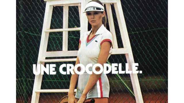 Publicidad Lacoste: Une crocodelle.