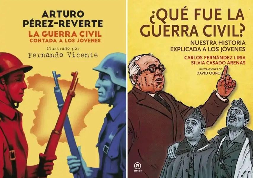 Los libros de Alfaguara y Akal, enfrentados por el relato de la Guerra Civil.